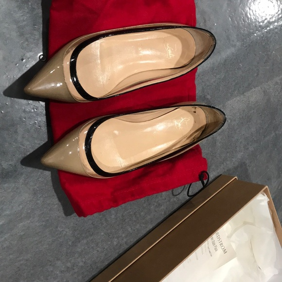 new concept dcb53 db816 Christian Louboutin Paulina flat shoes